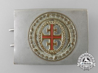 An Unidentified German Belt Buckle