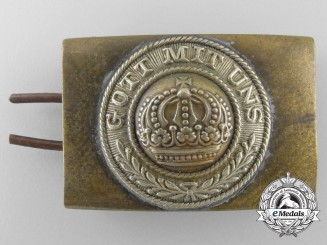 A Reduced Size German Imperial Army (Heer) Belt Buckle