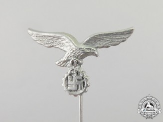 A Civilian Luftwaffe Flak Helper's Stick Pin