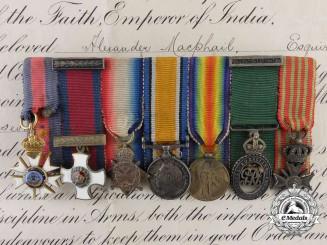 The Miniature Awards of Major James Alexander MacPhail