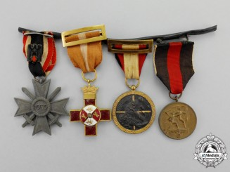 A Spanish Civil War Medal Bar
