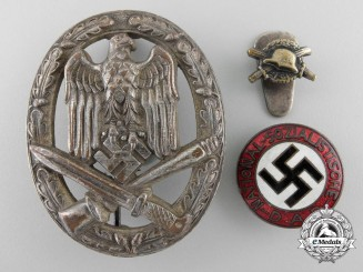 Three Third Reich Badges