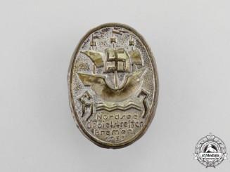 A 1933 North See Regional Meeting of Bremen Badge