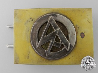 An Unidentified SA Buckle Attributed to the Danzig SA 1939;  Published Example