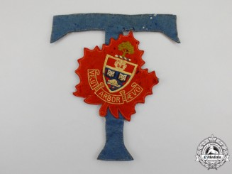 A First War Period University of Toronto Jacket Patch