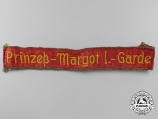 A Rare 1918 Prussian 1st Princess Margaret Guard Cufftitle