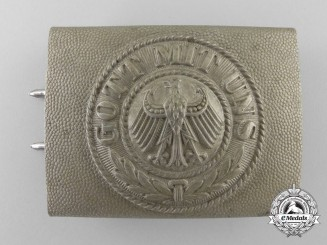 A Weimar Republic Army (Reichsheer) Enlisted Man's/NCO's Belt Buckle; Published Example