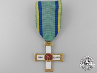 An Italian 1st Army Commemorative Cross