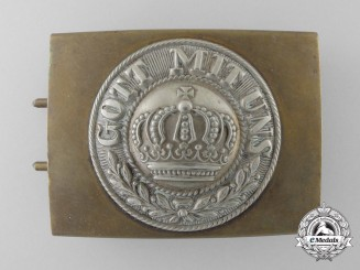 A German Imperial Army (Reichsheer) Enlisted Man's/NCO's Belt Buckle