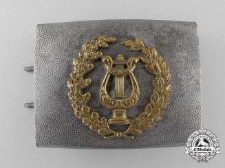 A Third Reich Civilian Band Member's Belt Buckle; Published Example