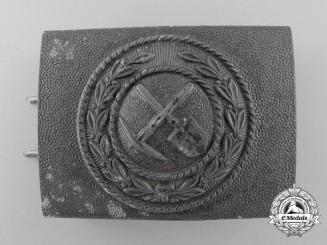 A German Volunteer Labour Service (FAD = Freiwilliger Arbeitsdienst) Belt Buckle