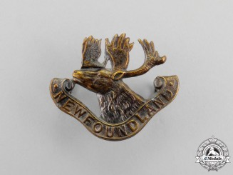 A First War Royal Newfoundland Regiment Collar Badge