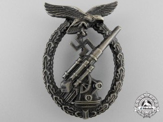An Early Luftwaffe Flak Badge -