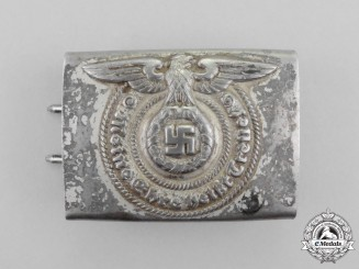Germany. An SS EM/NCO's Standard Issue Belt Buckle