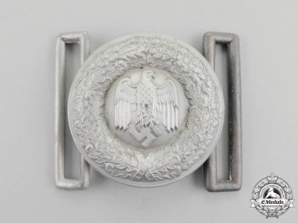 A Wehrmacht Heer (Army) Officer's Belt Buckle