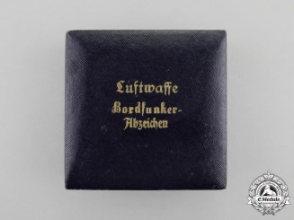 Germany, Luftwaffe. A Radio Operator Badge Case of Issue
