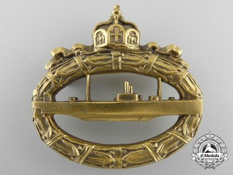 A First War German U-Boot Badge