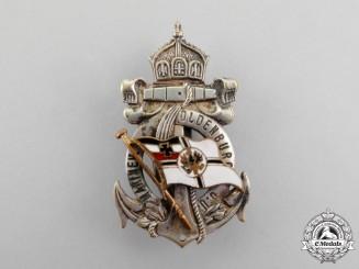 Oldenburg. A Naval Association Badge, c.1917