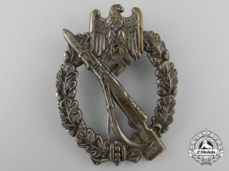 An Early Silver Grade Infantry Badge in Tombac