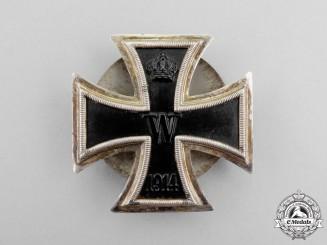 A Silver Iron Cross 1914 First Class; Screwback Version