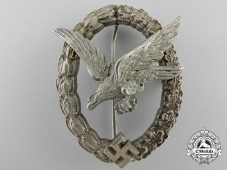 A Luftwaffe Air Gunner's Badge by JMME & SOHN BERLIN