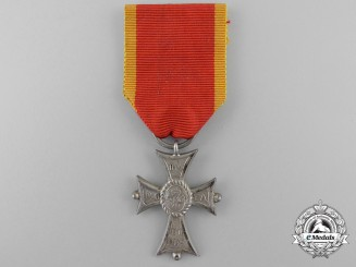 A Brunswick Order of Henry the Lion; Merit Cross Second Class