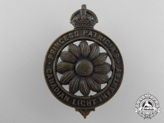 A First War Princess Patricia's Canadian Light Infantry Badge