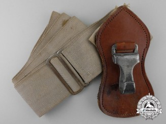 A Second War German Single Over Shoulder Strap
