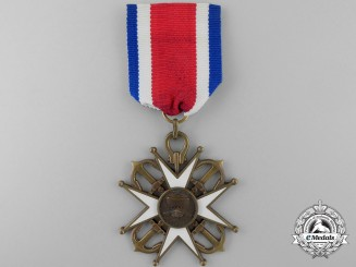 A Chilean Naval Cross for Onboard Service; Grand Cross