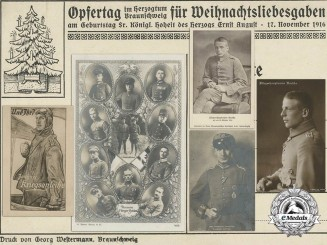 Five First War German Imperial Airmen Postcards