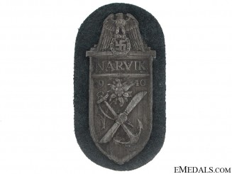 Narvik Campaign Shield