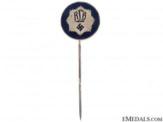 "National Air Raid Protection Union ""Luftschutz"" Officer's Stickpin"