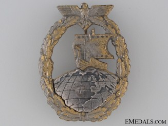 Naval Auxiliary Cruiser War Badge