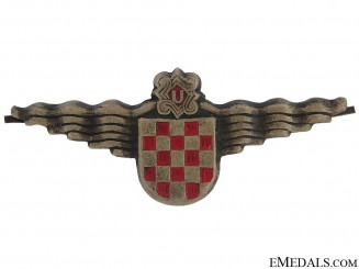 Naval Cap Badge 1944-45