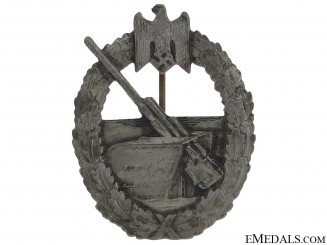 Naval Coastal Artillery War Badge