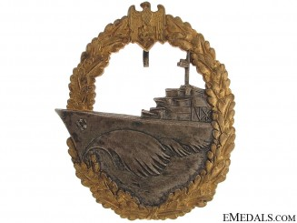 Naval Destroyer War Badge
