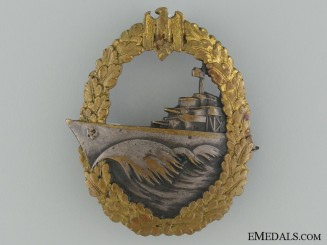 Naval Destroyer War Badge by Schwerin