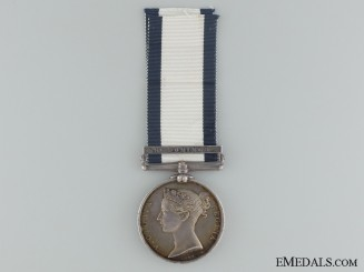 Naval General Service Medal to Ord. Seamen on HMS REVENGE
