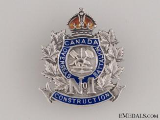 No.1 Overseas Railway Construction Corps Pin