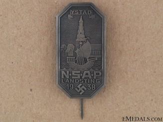 NSAP Stick Pin Badge
