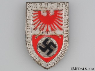 NSDAP 1933 Kreis Partitag Tinnie