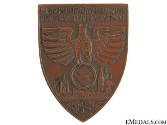 NSDAP Day Badge Koln 1933