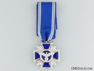 NSDAP Long Service Award; Silver & Maker Marked