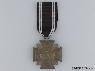 NSDAP Long Service Award; Third Class