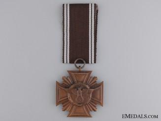 "NSDAP Long Service Award; Marked ""21"""