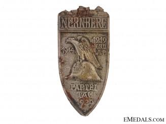 NSDAP Nuremberg Party Day Tinnie
