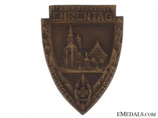 NSKOV War Victims Honour Day Tinnie 1933