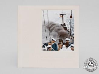 "Germany, Kriegsmarine. A Propaganda Book ""Our Reich Navy"" 1935"