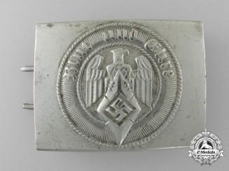An HJ Belt Buckle by aulmann & Crone, Lüdenscheid