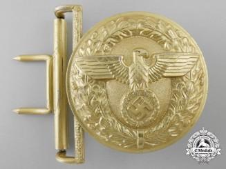 An NSDAP Political Leader's Belt Buckle by Dr. Franke & Cie KG, Lüdenscheid